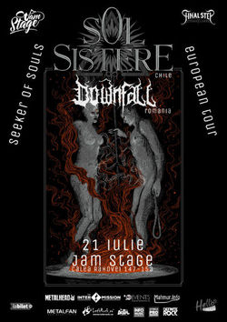 Concert Sol Sistere & Downfall pe 21 iulie in JamStage