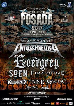 Posada Rock 2017 are loc in perioada 1-3 septembrie