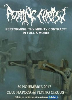 Rotting Christ - Thy Mighty Contract set, live la Cluj Napoca pe 30 noiembrie