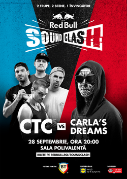 CTC si Carla's Dreams deschid primul Red Bull SoundClash din Romania