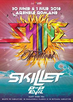 SKILLET si Pop Evil confirmate pentru Shine Festival 2018