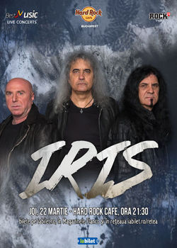Concert IRIS - Nationala de Rock