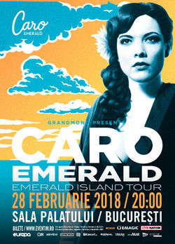Caro Emerald  concert de Martisor la Bucuresti