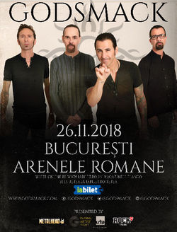 GODSMACK in concert la Bucuresti