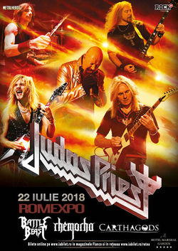 Judas Priest - Firepower la Bucuresti