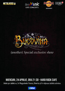 Concert Bucovina - special exclusive show