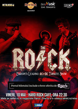 Concert Tribut AC/DC cu The Rock