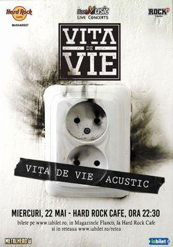 Concert Vita de Vie - Acustic - 22 mai