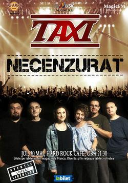 Concert Taxi - 30 mai