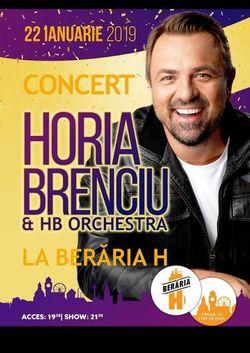 Concert Horia Brenciu & HB Orchestra la Beraria H