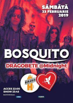 Concert Bosquito  Dragobete @ Midnight