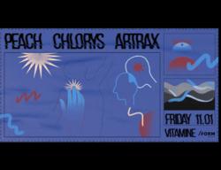 Vitamine w/ Peach, Chlorys & Artrax - Form Space