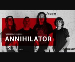 Annihilator at /FORM SPACE
