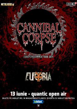 Bucuresti: Cannibal Corpse la Quantic Open Air