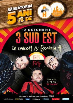 3 Sud Est in concert la Beraria H