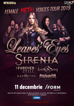 Cluj-Napoca: The Female Metal Voices Tour 2019