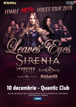 Bucuresti: The Female Metal Voices Tour 2019
