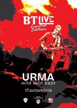 Urma, 'Wild Wild East' pe 17 Octombrie in Club Control din Bucuresti