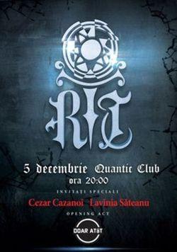 Concert R.I.T  Piaza Rea in Club Quantic
