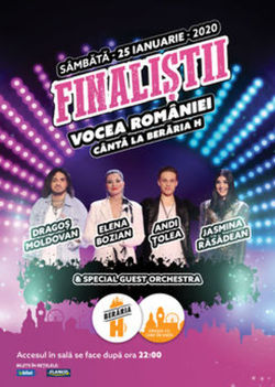 Finalitii Vocea Romaniei 2019 canta la Beraria H
