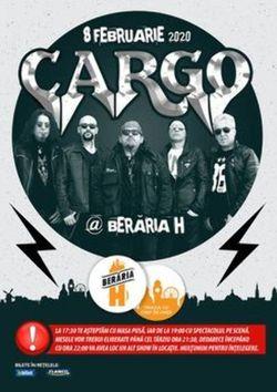 Cargo // 8 februarie // Beraria H