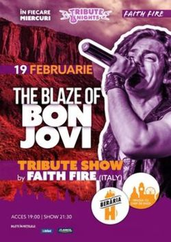 The Blaze of BON JOVI - Tribute Show by Faith Fire