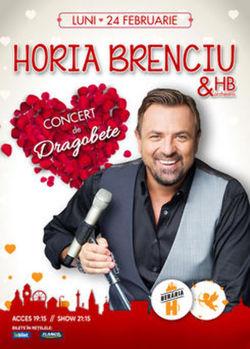Horia Brenciu & HB Orchestra - concert de Dragobete @ Beraria H
