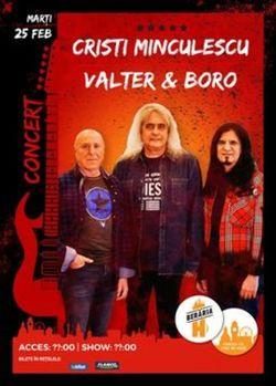 Concert Cristi Minculescu, Valter i Boro @ Beraria H