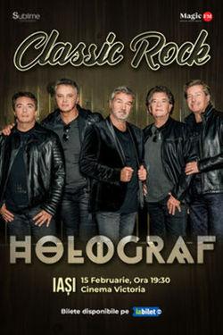Iasi: Concert Holograf - Classic Rock