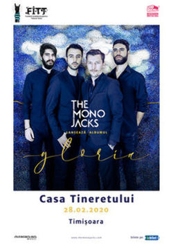 Timioara: The Mono Jacks  lansare album Gloria
