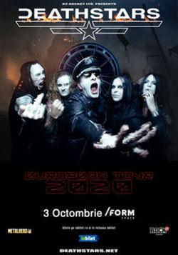 DEATHSTARS canta la /FORM Space pe 3 octombrie