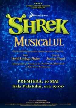 Shrek Musicalul  Premiera Nationala