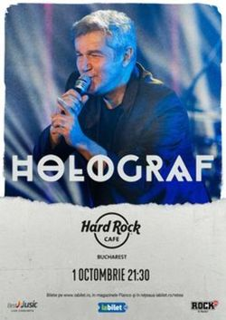 Concert Holograf pe 1 octombrie