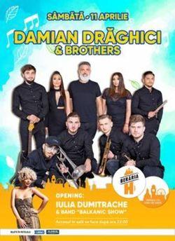 Concert Damian Draghici & Brothers @ Beraria H