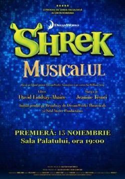 Shrek Musicalul  Premiera Nationala