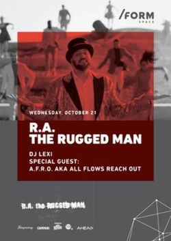 R.A. The Rugged Man canta la /FORM Space