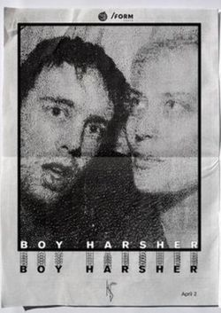 Boy Harsher [us], Hide [us] at /FORM SPACE