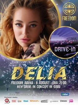 Freedom Events - Concert Delia