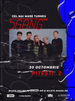 Pitesti: Concert 2 - 5GANG