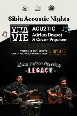 Adrian Despot & Cezar Popescu // Vita de Vie Acu2tic