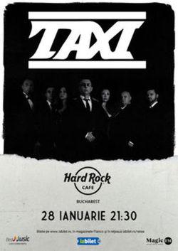 Concert Taxi pe 28 ianuarie 2021