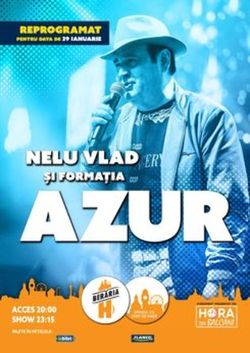 Azur canta pe 29 ianuarue 2021 la Beraria H