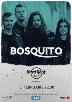 Concert Bosquito pe 5 februarie 2021