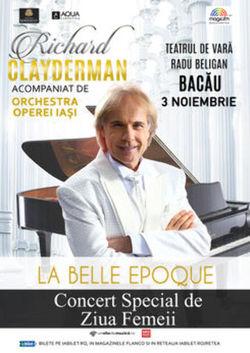 Bacau: Concert Richard Clayderman