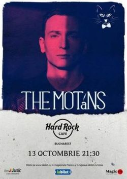Concert The Motans pe 13 octombrie in Hard Rock Cafe
