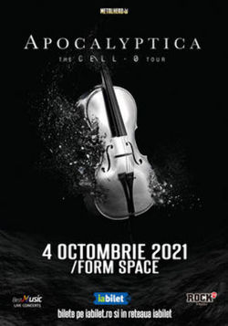 Apocalyptica in concert la Cluj-Napoca pe 4 octombrie
