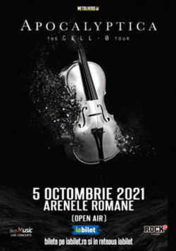 Apocalyptica in concert la Bucuresti pe 5 octombrie