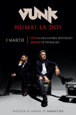 VUNK - Numai la doi - Acustic - Cornel Ilie & Gabi Maga