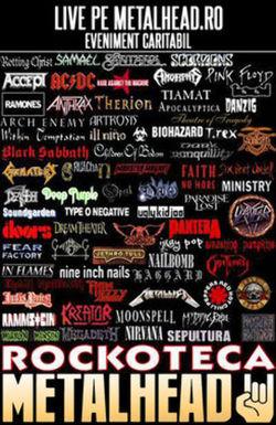 Rockoteca LIVE: Battle of the Genres - Metal vs Alternative vs Punk. Eveniment Caritabil