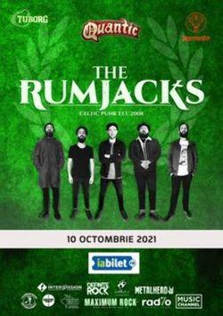 Concert The Rumjacks pe 10 octombrie in Quantic